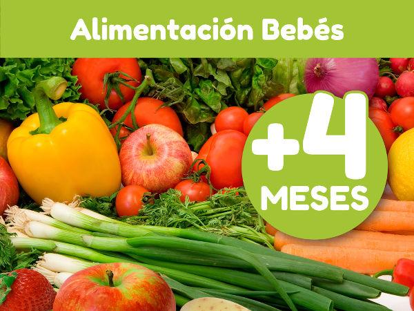 Alimentación para Bebés +4 Meses