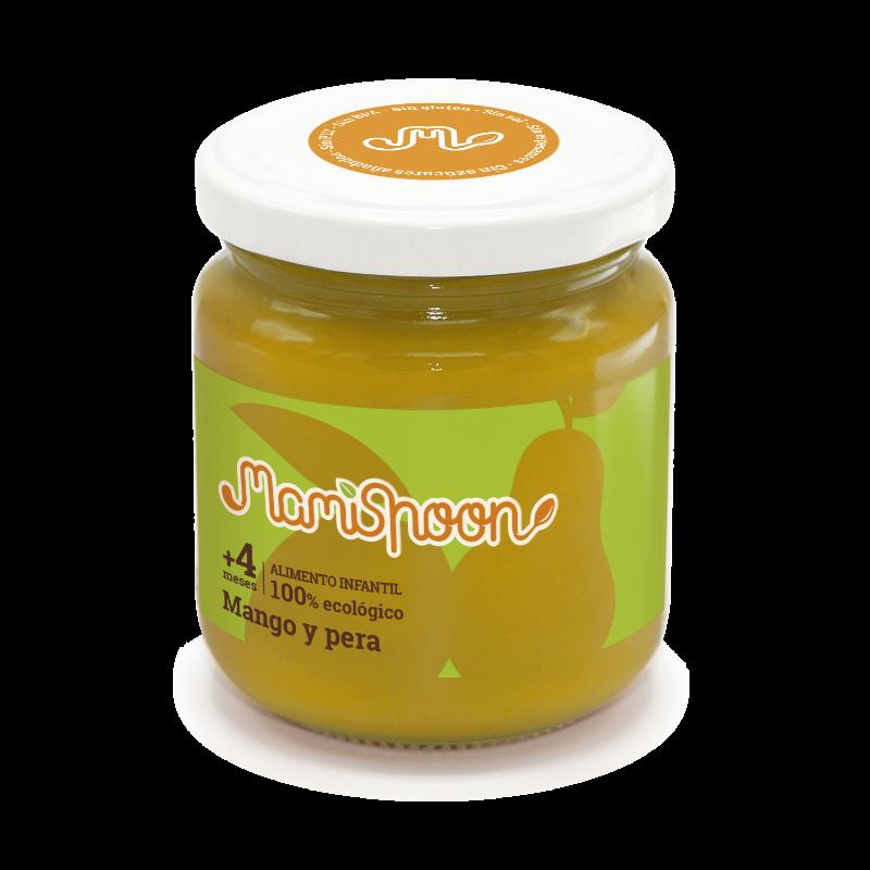 Tarrito ecológico de Mango y Pera